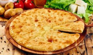 Пирог с сыром и картошкой