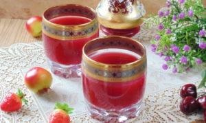 Кисель из ягод и фруктов