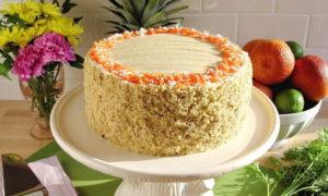 Торт в вазе