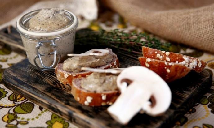 Паштет из грибов: рецепт в домашних условиях