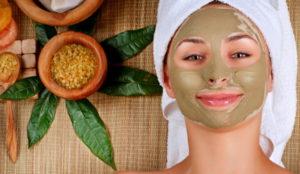 Косметическая маска с лавровым листом