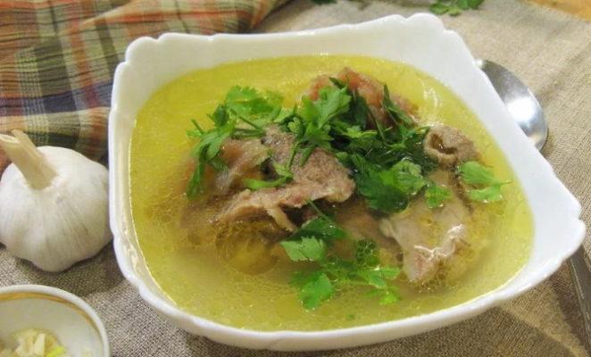 Как приготовить насыщенный и ароматный суп хаш?