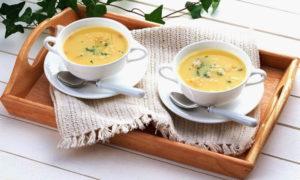 Порции крем-супа