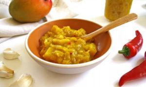 Острый соус из манго