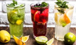 Напитки с фруктами