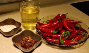 Ингредиенты для табаско